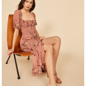 NWT Reformation Meadow Dress - Queen